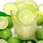Agua de chia y limon
