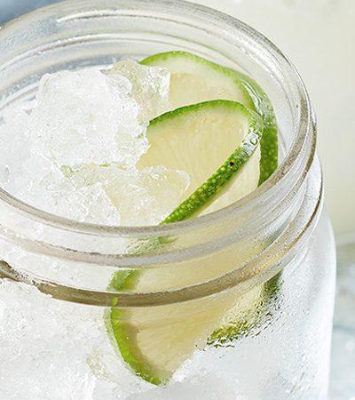 agua de jicama con lima