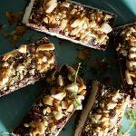 barras raw de cacahuate