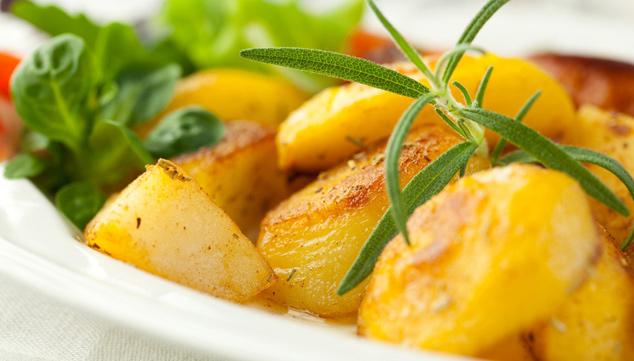 Botana de zanahoria y papitas cambray