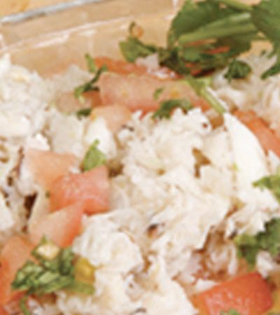 Ceviche de jaiba