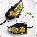 Chiles Anchos Rellenos con Puré de Camote y Manzana