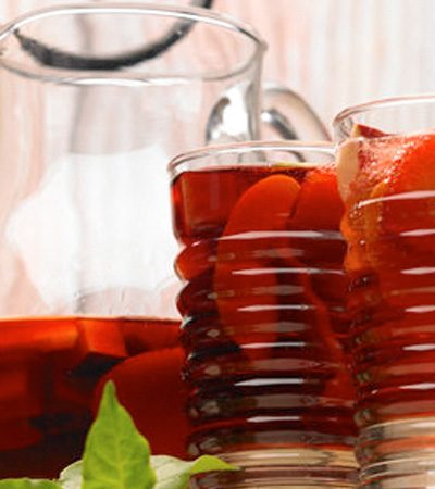 Clericot con refresco de limon