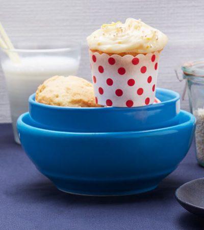 Cupcakes de Amaranto y Mandarina