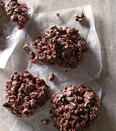 Enjambres de chocolate
