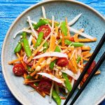 ensalada de zanahoria estilo thai recetas chef oropeza
