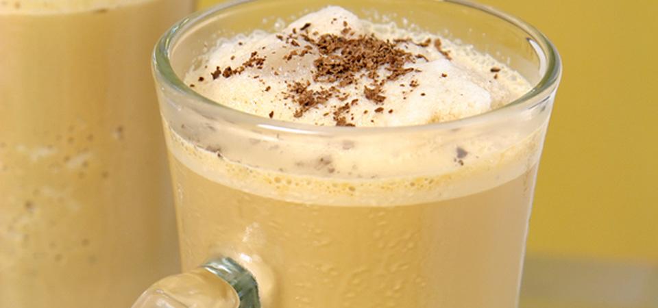 Frozen de cafe y vainilla