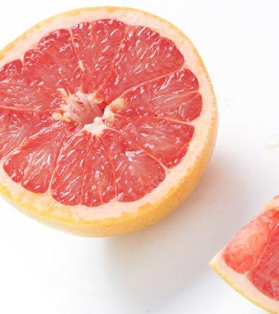 gajos de toronja y naranja