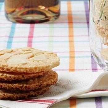 galletas de almendra con vainilla