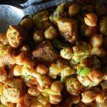 garbanzos estilo marroqui con quinoa