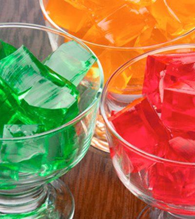 Gelatinas de colores