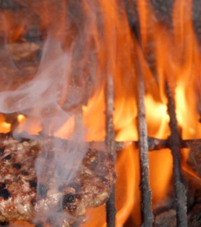 Hamburguesa al carbón