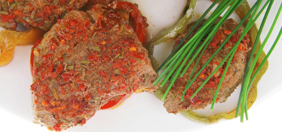 Lomo de cerdo a la naranja y romero
