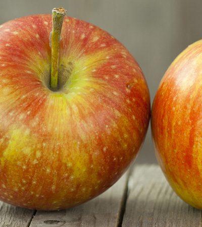 manzana con betabel