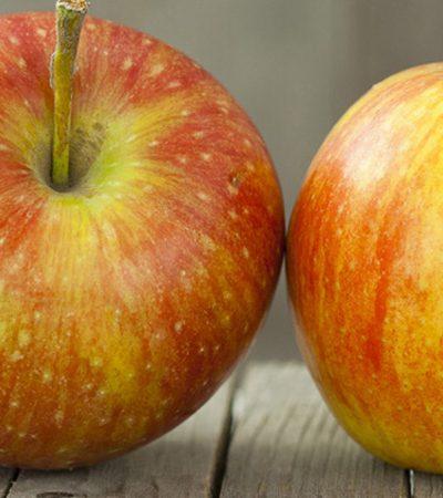manzana con chamoy
