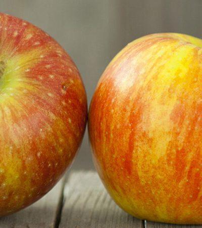 Manzana con miel