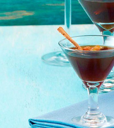 Martini de café sabor rol de canela