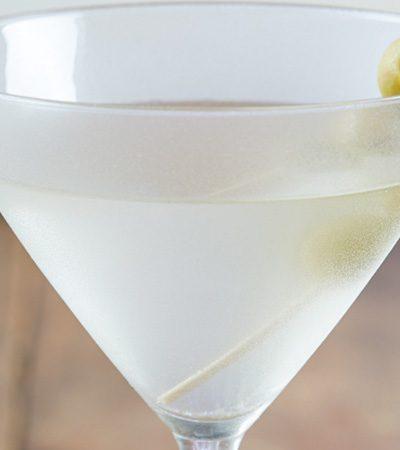 Martini tradicional y Gibson