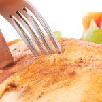 Medio pollo rostizado con miel y chile ancho