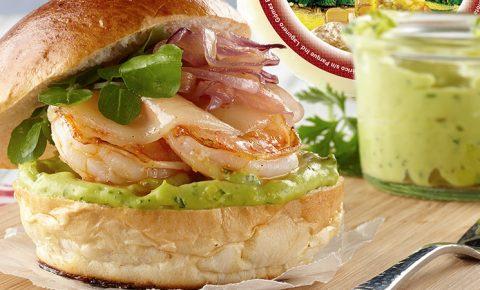 mini hamburguesas de camaron recetas