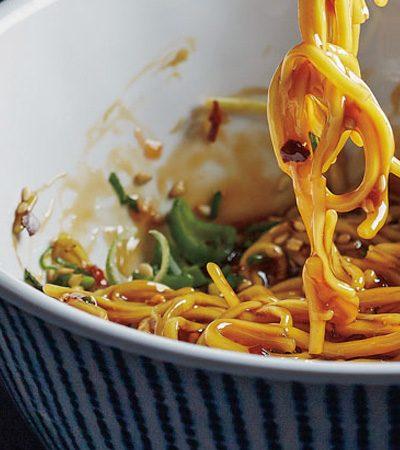 noodles agridulces