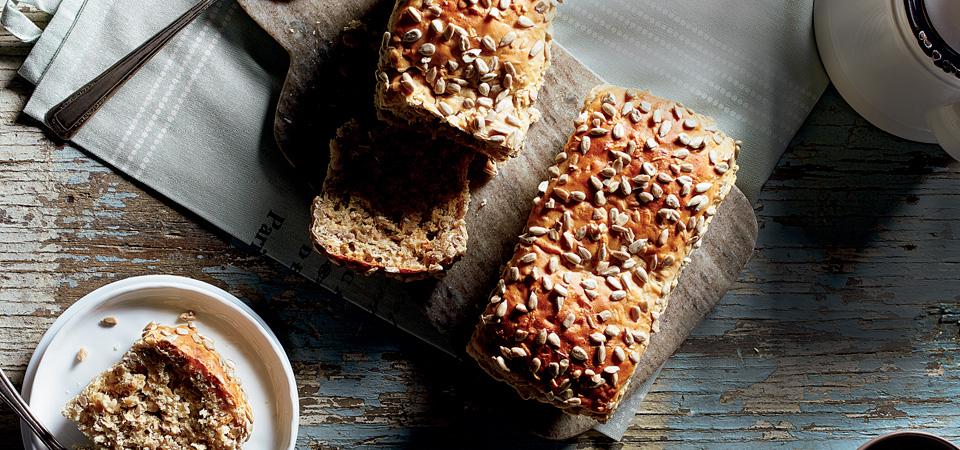 pan de miel y semillas de girasol