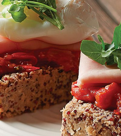 Pan Integral Libre de Gluten con Huevo Pochado