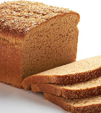 pan tostado con manzana y miel
