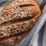 pan tostado con pera y miel