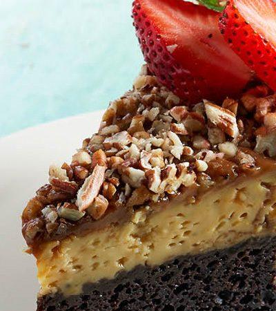 pastel imposible de cajeta
