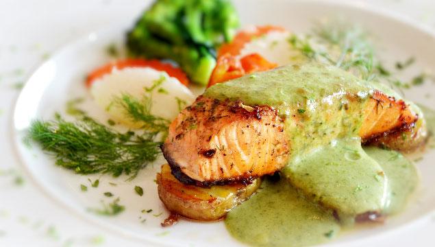 pollo en salsa de brocoli