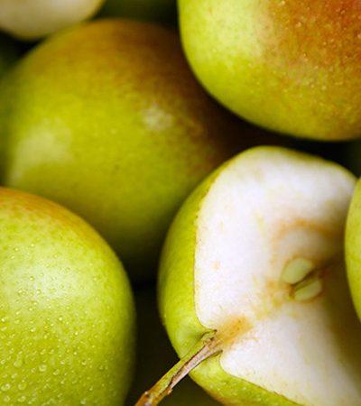 pera con nueces de la india
