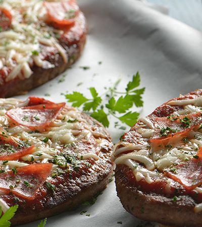Pizza de hamburguesa