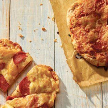 Pizzas individuales de pepperoni