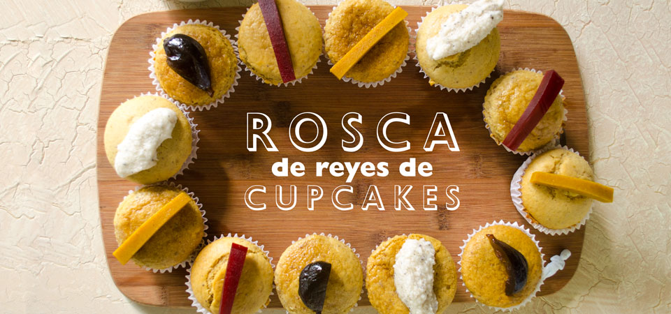 Rosca De Reyes De Cupcakes
