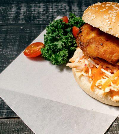 sandwich de pollo frito