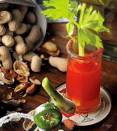 Sangrita de tomate y habanero