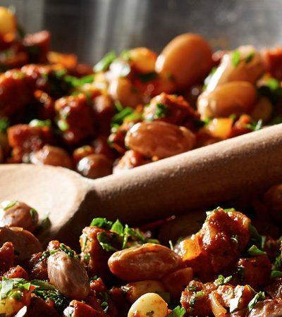 sarten de carne estilo chili