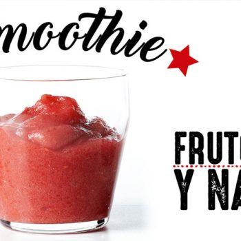 Smoothie de Frutos Rojos y Naranja