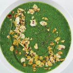 sopa de espinacas y acelgas