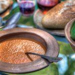 Sopa de pimientos rostizados
