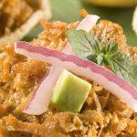 Sopes estilo Yucatán