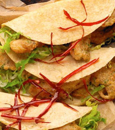 Tacos de pescado estilo ensenada