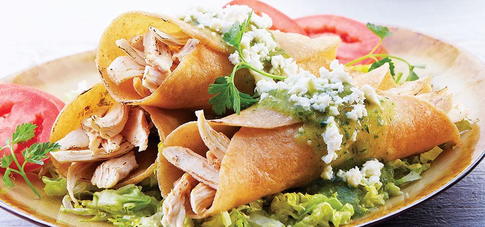 Tacos Horneados De Pollo Chef Oropeza