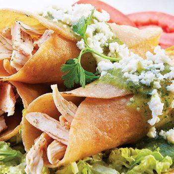 Tacos Horneados de Pollo