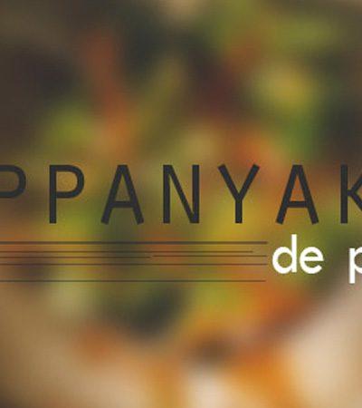 Teppanyaki de pollo a la mostaza
