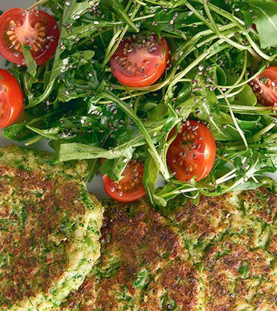 tortitas de brocoli