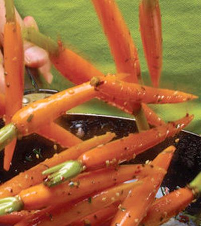 Zanahorias Baby Salteadas