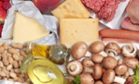 3 grupos alimenticios bajos en colesterol
