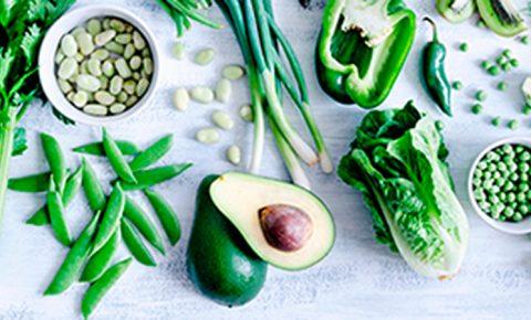 3 opciones verdes y ¡muy saludables!